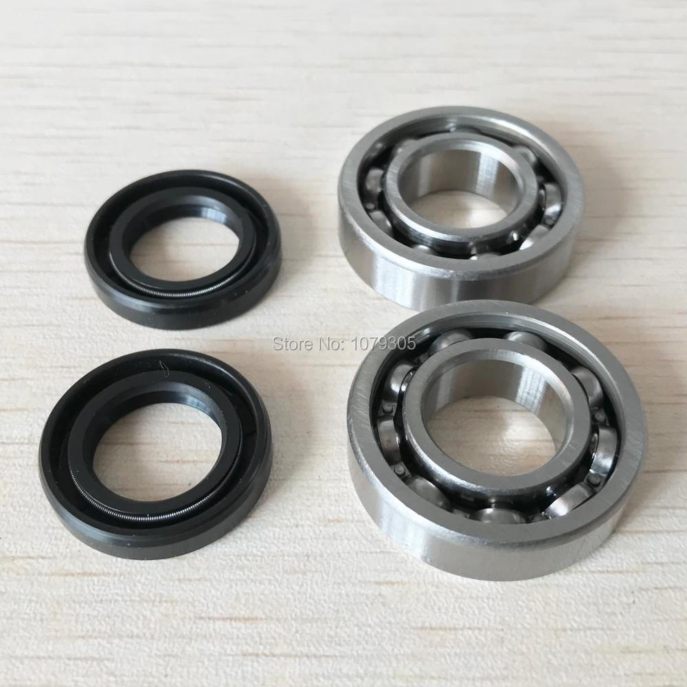 Crankshaft Oil Seal Grooved Ball Bearing Kit For STIHL MS180 MS170 MS 180 170 018 017 Chainsaw