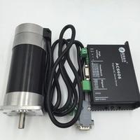 Leadshine 90W DC Brushless 36V Servo Motor Driver Kit BLM57090 1000+ACS606 57mm 4000ppr for CNC Router Engraving
