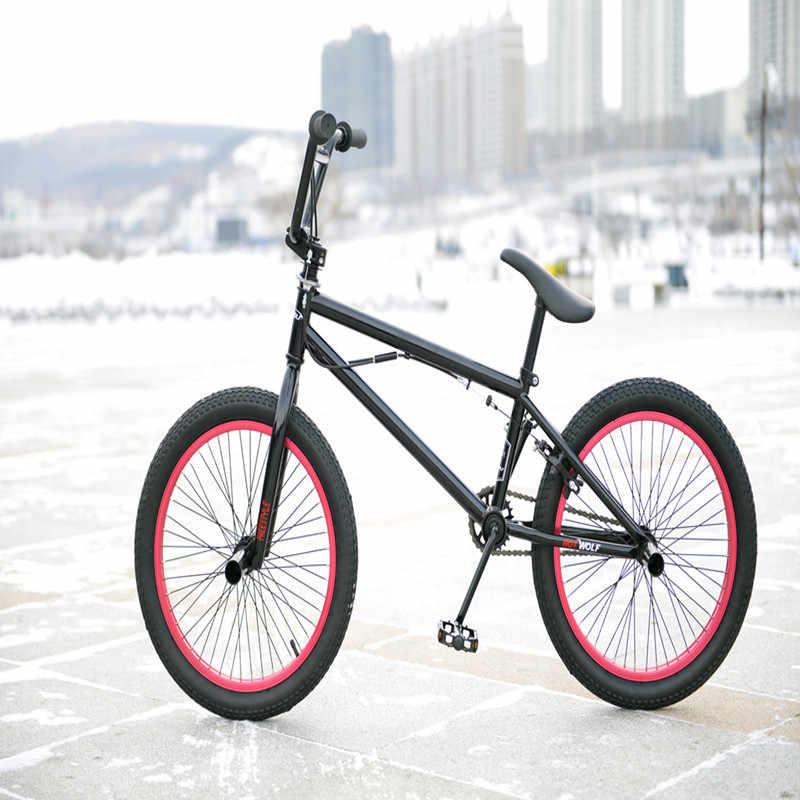 BMX велосипед стальная рама, 20 дюймов мужской Фристайл шоу, собственный уличный угол экстремальный трюк, горный велосипед задний тормоз, V велосипед трюк acti
