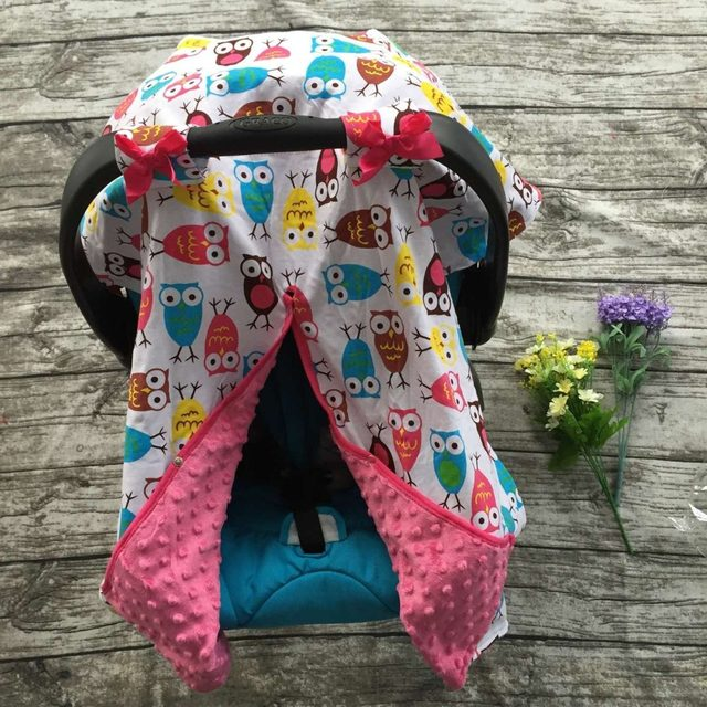 cotton new free shipping baby Car Seat Canopy cover infant children animal deer dinosaur owl carseat cover baby canopies & Online Shop cotton new free shipping baby Car Seat Canopy cover ...