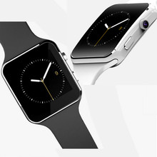 2016 neueste mode bluetooth smart watch x6 sport smartwatch für Applle IOS Android-Handy mit Kamera Unterstützung SIM TF Karte # B3