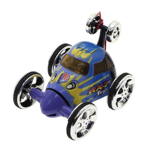 Mini Radio Remote Control RC 360 Carro de Corrida Veículo Dublê Cavalinho Crianças Brinquedo de Presente