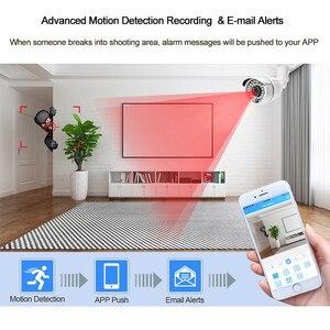 Image 5 - Techage CCTV камера система 4CH 1080P 2MP AHD камера безопасности DVR комплект IP66 водонепроницаемый открытый домашний комплект видеонаблюдения 1 ТБ HDD