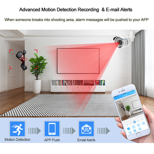 Image 5 - Techage CCTV Camera System 4CH 1080P 2MP AHD Security Camera DVR Kit IP66 Waterproof Outdoor Home Video Surveillance Set 1TB HDD