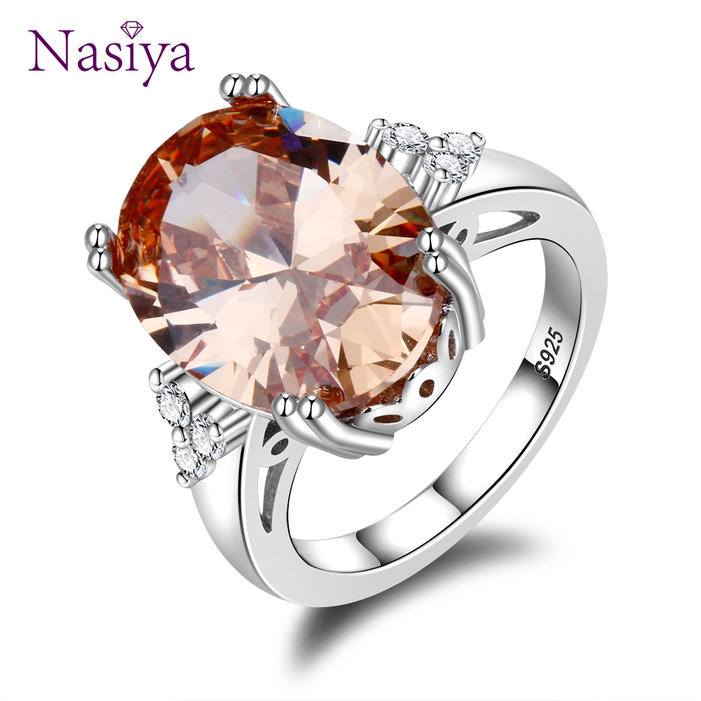 High Quality Gemstone Rings 925 Silver Jewelry Ring