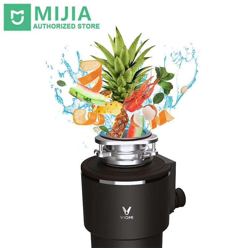 XIAOMI VIOMI Processador de eliminação De Resíduos De Cozinha triturador de resíduos alimentares triturador 1290 ml Controle do Interruptor Sem Fio