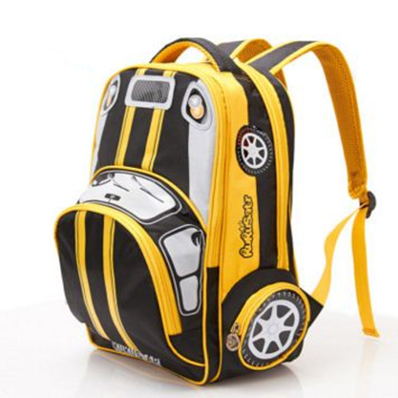 2018 New School Bags Children Fashion Bag Character 3D Printing Car Styling Backpacks For Kids Boys Backpack Child In From Luggage