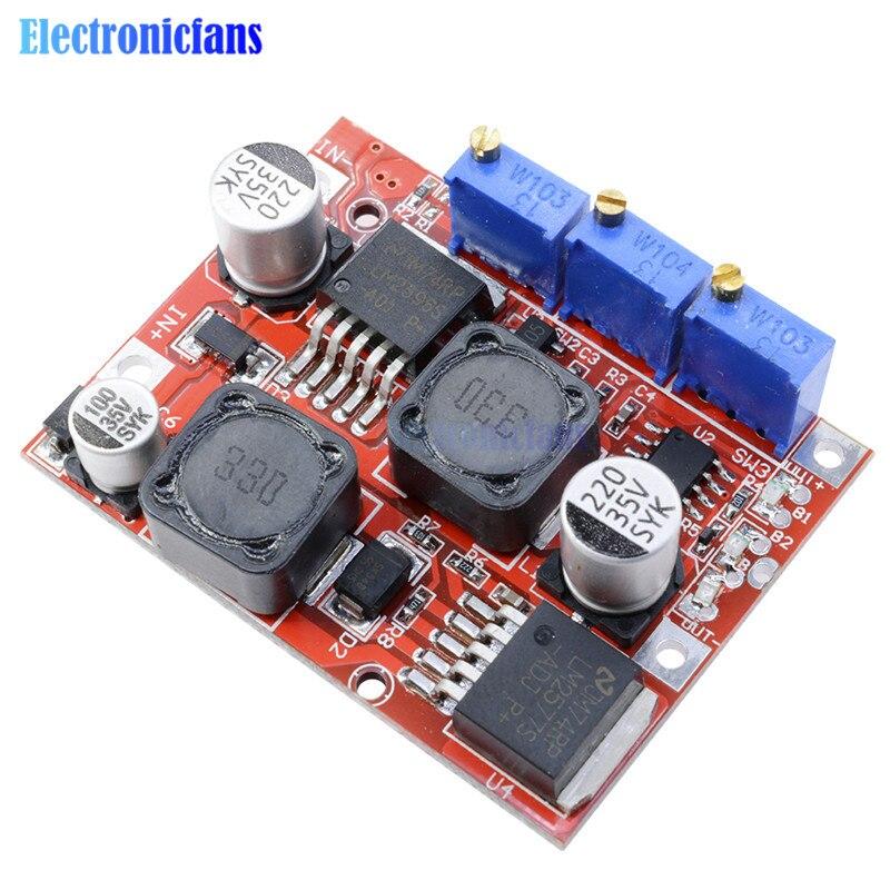 Noir Sairis Durable Pratique Chargeur De Voiture DC Convertisseur Module 12V /À 5V 3A 15W Adaptateur Secteur USB avec Trou De Montage USB