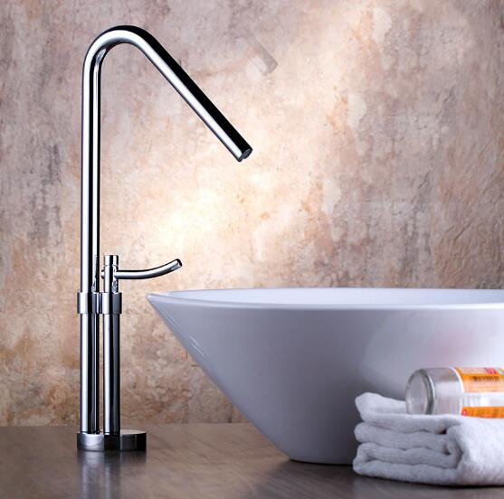 Modern Bathroom Products Chrome Finished Hot and Cold Water Basin Faucet Mixer,Single Handle water Sink Faucet Tap torneira newest washbasin design single hole one handle bathroom basin faucet mixer tap hot and cold water orb chrome brusehd