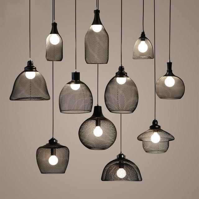 Nieuwe Moderne Hanglampen lustres de plafond vogelkooi Hanglamp Loft ...