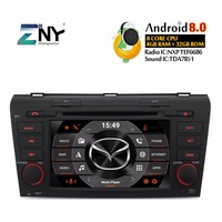 7 IPS Android Car Stereo DVD Player For Mazda 3 2004 2009 2 Din Auto Radio Audio GPS Navigation Multimedia Headunit Gift Camera