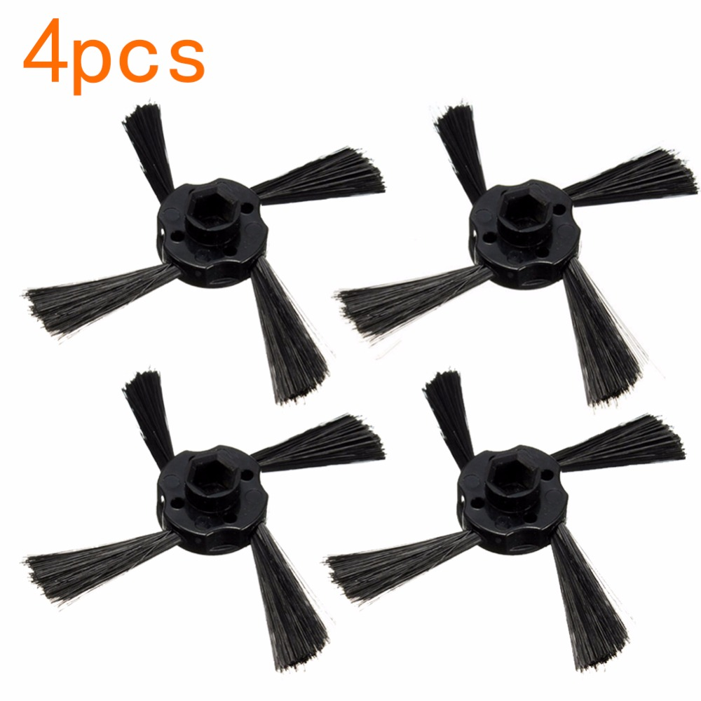 4pcs/lot Vacuum Cleaner Side Brush for Neato BotVac 70e 750 80 85 Robotic Cleaner Vacuum Cleaner Parts free shipping hepa dust filter replacement for neato botvac d3 d5 70e 75 80 85 series robotic vacuum cleaner 10 pieces lot robot parts