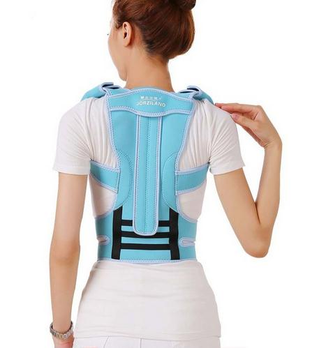 Professional Adult Aluminium Alloy Back Posture Brace Corrector Shoulder Support Band Belt Posture Correct Belt For Health Care unisex adjustable posture corrector corst back men brace shoulder belt lumbar support straight correction for health care
