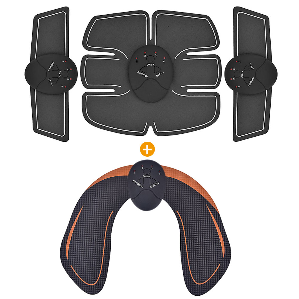 Smart EMS Hanches Formateur Électrique Stimulateur Musculaire Sans Fil Fesses Abdominale ABS Fitness Stimulateur Corps Minceur Masseur