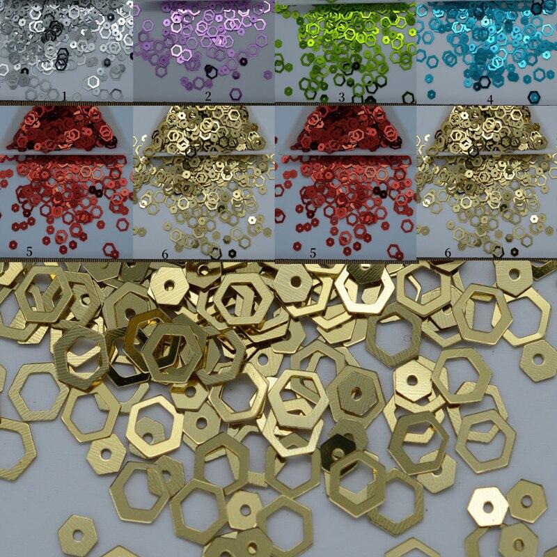 100pcs//Set Sequins Beads Flowers Applique for Sewing on Clothes Dress Decor 20mm