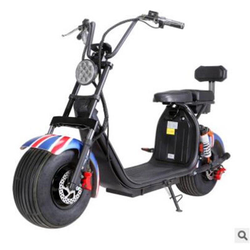 Électrique moto 60V12A 1500 W accessoires de voiture camping ville coco citycoco batterie au lithium Multi couleur À La Mode et populaire