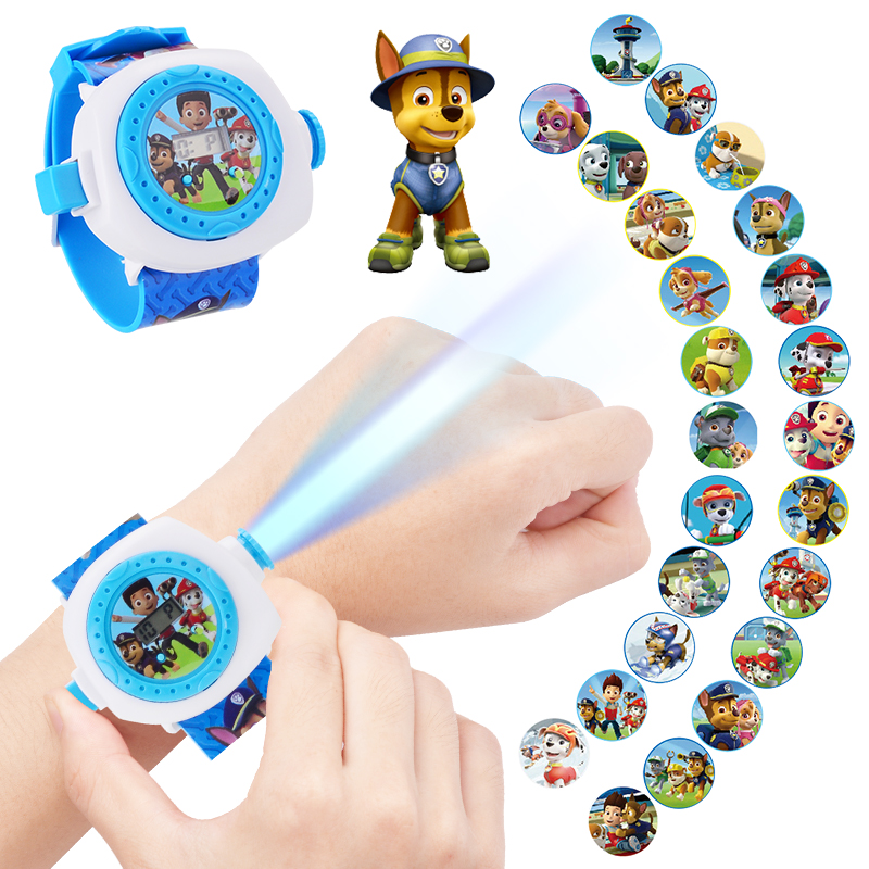Upgraded Avangers Transformation Cartoon Theme Premium Children's Watches Toys with Light Projector Ben 10 Watch Toy Gifts