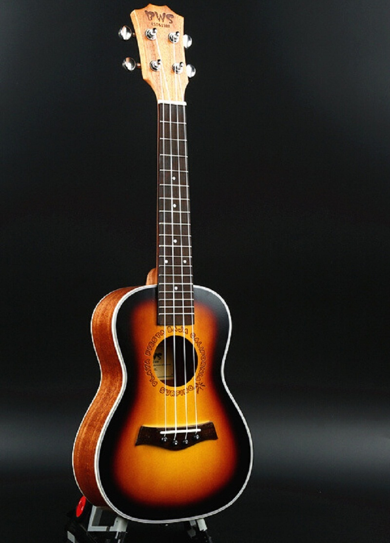 26 inch 4 Strings Musical Instruments Ukulele Rosewood Concert Mini Acoustic Uke Handcraft Hawaii Small Guitar Electric Uke acouway 21 inch soprano 23 inch concert electric ukulele uke 4 string hawaii guitar musical instrument with built in eq pickup