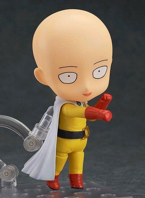 One Punch Man Re Make Saitama Sensei Nendoroid Doll PVC Model Doll Toy