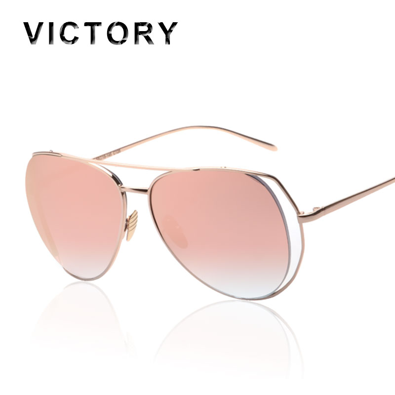 new pilot mirror interval women sunlgasses 2016 fashion brand design men lady uv400 large frame sun