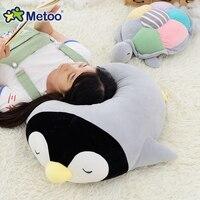 Candice guo pingüino de peluche de juguete muñeca de peluche lindo del animal de Mar tortuga almohada amortiguador de la historieta modelo regalo de cumpleaños del amante 1 unid