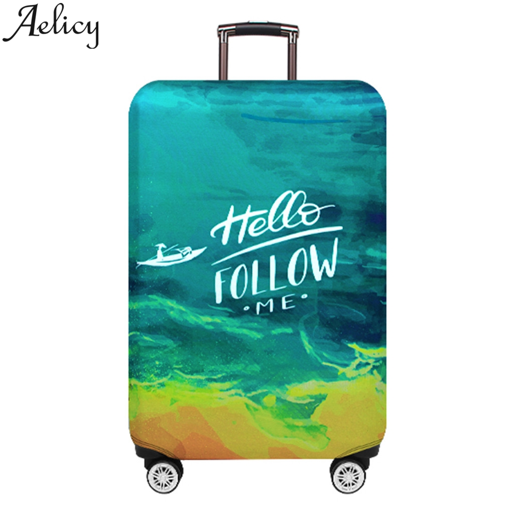 Luggage-Organizer Suitcase Thickertravel To Aelicy Protective-Cover Apply 18''-32''