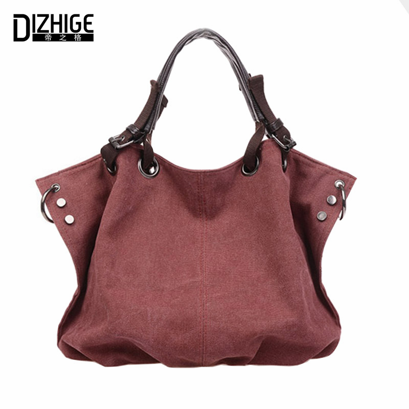 Bolsas Femininas 2016 Designer Handbags High Quality Casual Canvas Bag Women Handbags Sac Femme Tote Ladies