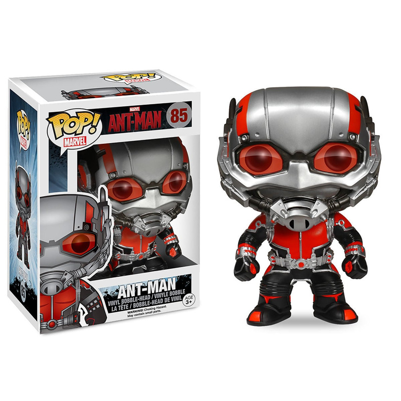 Funko POP Official Ant Man Ant-Man Vinyl Action Figure Movie Character Collection Model Toys for Kids Children GiftsFunko POP Official Ant Man Ant-Man Vinyl Action Figure Movie Character Collection Model Toys for Kids Children Gifts