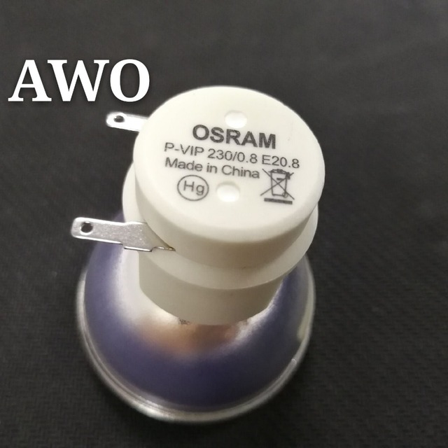 New Bare Bulb Lamp Osram P VIP 230/0.8 E20.8 For ACER BenQ Optoma VIEWSONIC Projectors