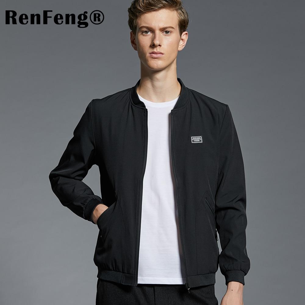 8f45cab18 2018 Mens Coat High Quality Autumn Spring Short Trench Coat For Men  Windbreaker Zipper Fashion Brand Clothing Jackets Men's