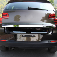 Car Stainless Steel Rear Trunk Lid Cover Trim Tail Gate Protector Back Trunk Cover Fit For