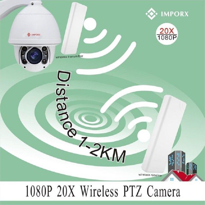 Caméra IP sans fil Wifi dôme de vitesse PTZ 2MP 20X étanche en plein air suivi automatique caméra PTZ HD 1080 P CCTV caméra Support carte SD