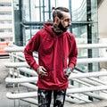 2017 New Fashion Mens Hoodies Fleece Solid High Quality Cotton Sweartshirt Pullover Man Hoody Sweatshirts Active Street Clothing