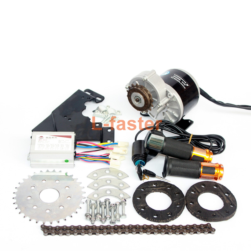 350W New Arrival Electric Geared Bicycle Motor Kit