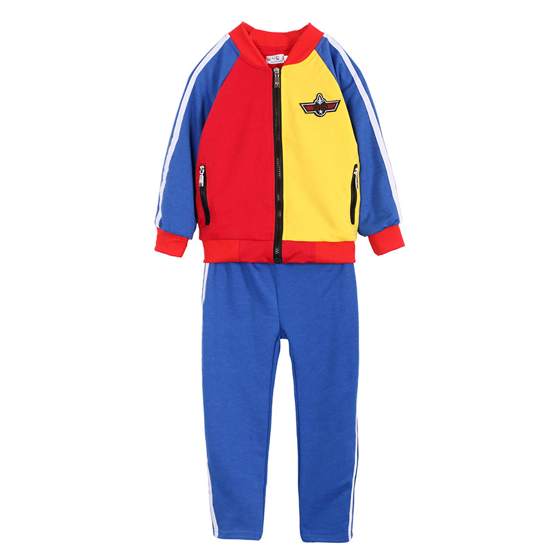 Children Spring Clothes Kids Casual Sport Set Baby Boys Girls Schoolyard Suit Infantil Top+pant Tracksuit Enfant Fille Costume kids spring formal clothes set children boys three piece suit cool pant vest coat performance wear western style