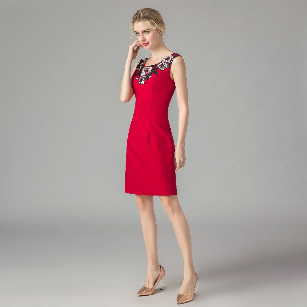 DealRuthshen Robe Mother-Of-The-Bride-Dresses Formal-Gown Mere-De-La-Mariee Knee-Length Elegant╟
