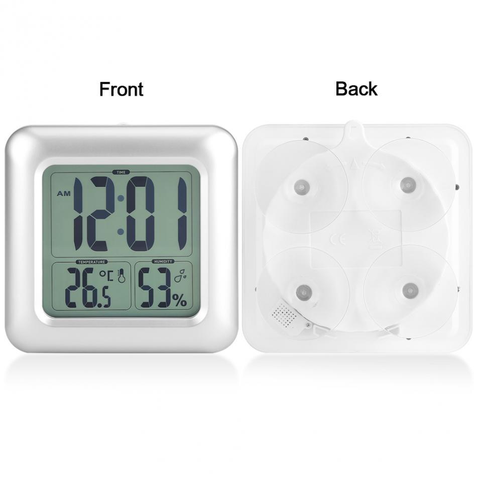 Baldr Digitale Absaugung Wasserdicht Wanduhr Vakuum Thermometer Hygrometer Bad Messung Und Analyse Instrumente Werkzeuge