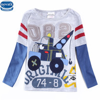 Novatx A5615 2017 Baby Boys Lovely Design Boys Clothes Lovely Embroidery Patten Children Fashionable Long Sleeves