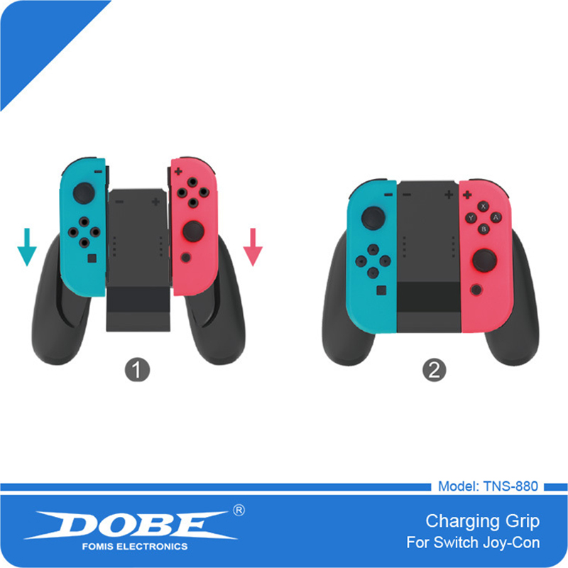 For Nintend Switch Hand Grip NS NX 2017 Joy Con Charging holder Controller Bracket For Nintendo Switch Stand Holder