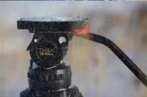 Image 5 - TERIS TRIX TS120 Professionele Statief Fluid Head 100mm kom Belasting 12KG voor Video camcorder statief Film RED Scarlet epic
