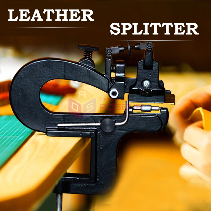 Leather Skiver Leather Splitter Machine Leather Edge Splitter Skiver Craft Leather Paring Machine Skiving Machine