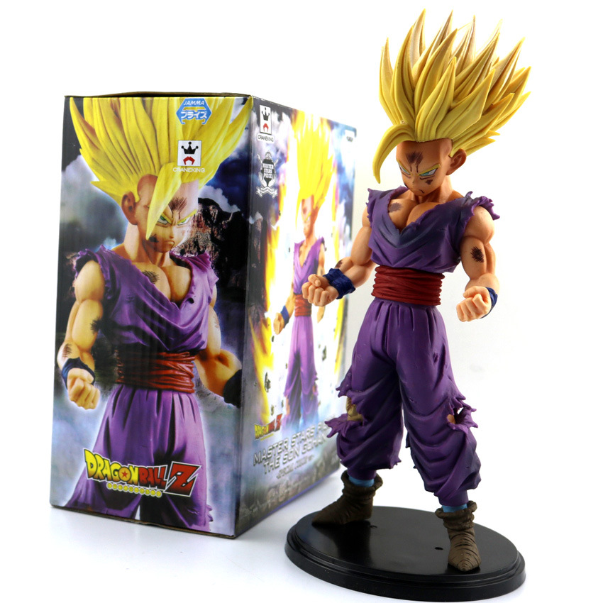 25Cm Dragon Ball Z Super Figurine THE SUPER SAIYAN WARRIORS Trunks v son Goku-black pvc Figure Model Toys 32cm dragon ball super the super warriors vol 3 figure collection goku black action figure