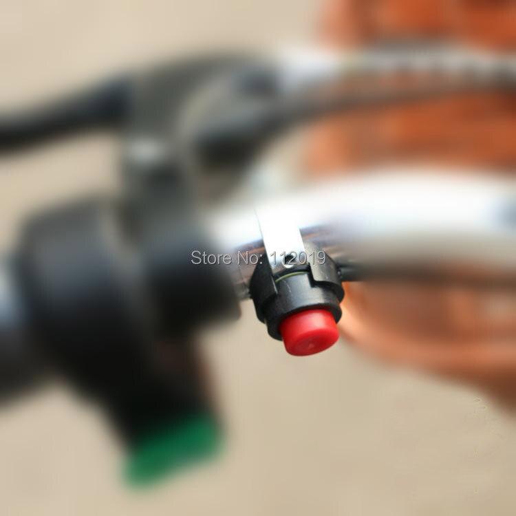 Универсальный однокнопочный рупорный переключатель мотоцикла, Байк, скутер, Электрический рупорный переключатель