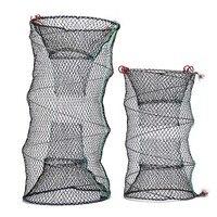 4 размера рыболовная Складная ловушка, храните сеть, краб, раки, ловушка для ловли омаров, рыболовная сеть, угрюмая креветка, живая приманка