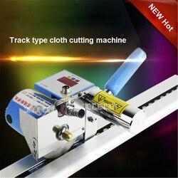 New Arrival Track typ maszyna do cięcia tkanin C-600C / LED duży ekran przerwa tkaniny maszyna 18 000 rpm 180W 220V 50HZ gorąca sprzedaży