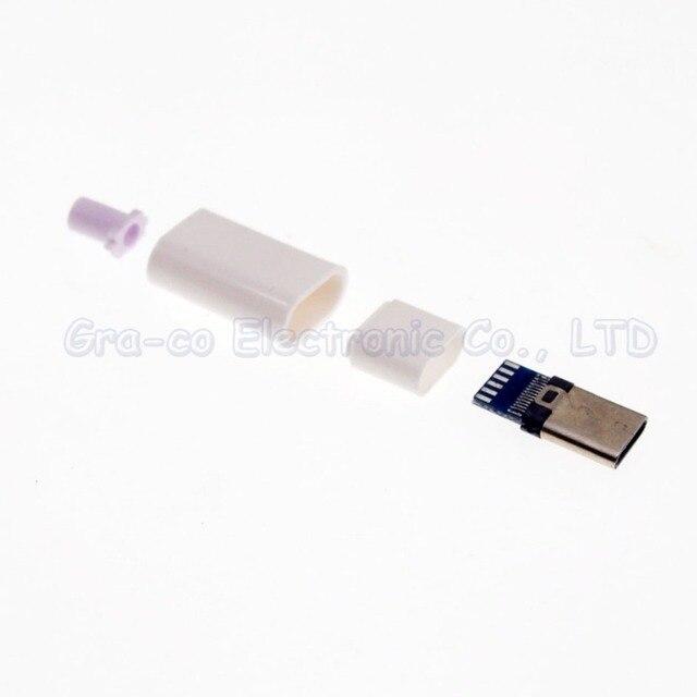 4 in 1 USB-C USB 3.1 typ c baustahlmatten typ mit Platine mit kunststoffschale
