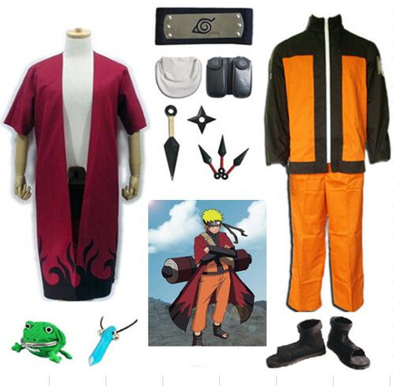 Cosplay Anime Costume Hot Anime Naruto Cosplay Costume Naruto Uzumaki Cosplay