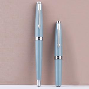 Image 2 - Moonman 80S/Mini Short Half cut Tip Fountain Pen, Pocket Hand Account Ink Pen Iridium Fine Nib for Student Adult with Gift Box