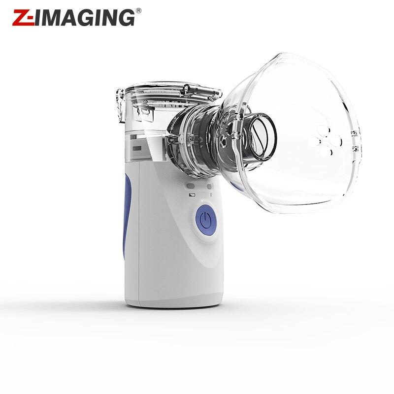 Mini Automizer Pour Enfants Adulte Inspiration Nébuliseur Nébuliseur Ultrasonique Pulvérisation Aromathérapie Vapeur Soins de Santé