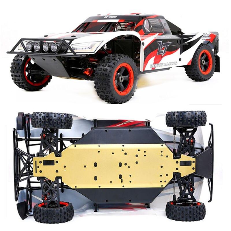 1/5 échelle Rofan Rovan LT 450 45CC 2 T moteur à essence deux 65 KG Servo 4WD RC camion